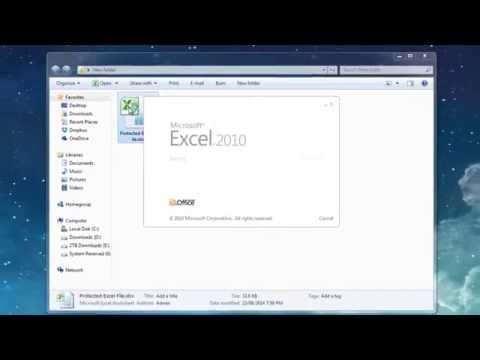 How to open Password Protected Excel File (No Software & 100% Free)