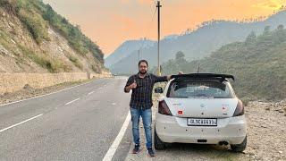 Taking My Swift For A Road Trip To Uttrakhand | Delhi-Haldwani-Nainital Road Trip | Modified Swift