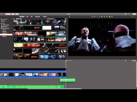 Imovie Cinematic Music Video Tutorial Ep. 5