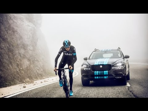 Chris Froome and Team Sky - Jaguar F-PACE - Tour de France - Unravel Travel TV