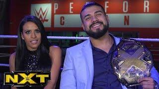 "Andrade ""Cien"" Almas and Zelina Vega call Johnny Gargano a ""broken man"": WWE NXT, Jan. 3, 2018"