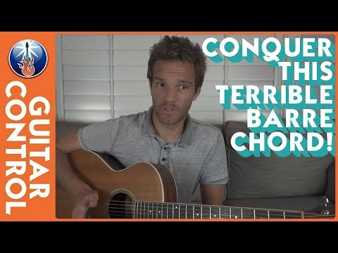 Conquer This Terrible Barre Chord!