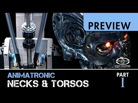 3-Axis Robotic Mechanisms: Animatronic Necks & Torsos - Part 1 - PREVIEW