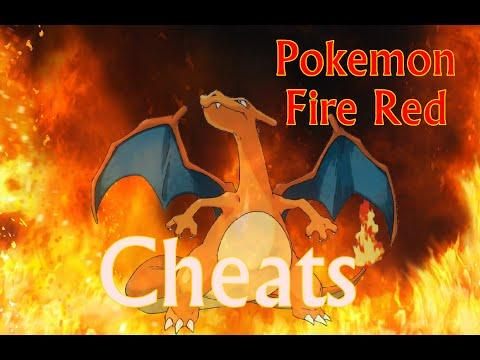 Pokemon Fire Red Cheats - master ball, rare candy, any pokemon