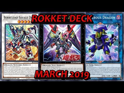 YGO PRO] Rokket Guardragon Deck - March 2019 *New Borrel