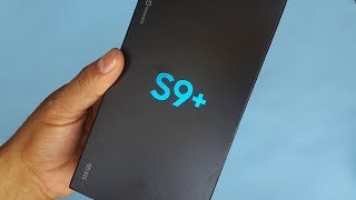 Samsung Galaxy S9+ (128 GB SM-G965F) Unboxing and First Look