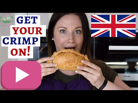 TRADITIONAL CORNISH PASTY Recipe | English Meat Pie