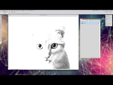 How to make halftone dots in Photoshop CS 5.1