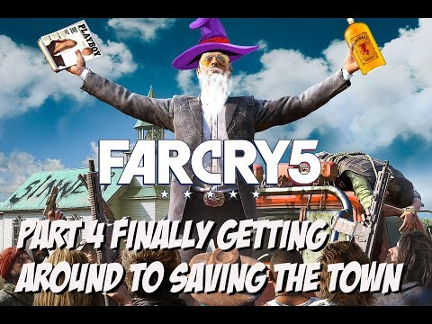 far cry 5 part 4: finally getting around to saving the town