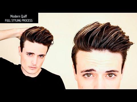 Undercut Hairstyle | Modern Quiff - FULL PROCESS, NO EDITS - Mens Hair Tutorial