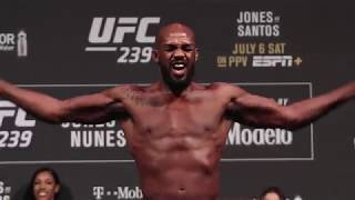 UFC 239 Ceremonial Weigh-Ins: Jon Jones vs. Thiago Silva