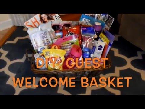 DIY Guest Welcome Basket