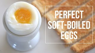 Perfect Soft Boiled Egg Cathydiep