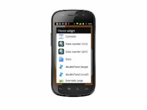 Tracking mobile data usage on your Android phone