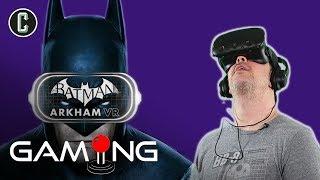 Kristian Harloff Plays Batman Arkham VR - Collider Gaming