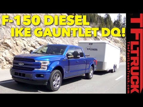 Limp Home! 2018 Ford F150 Diesel takes on the World's Toughest Towing Test