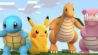 MINECRAFT vs Pokemon GO!