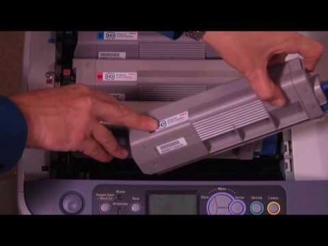 Toner Replacement -- OKI printers