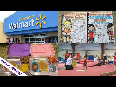 SUNDAY SETUP | Working Mom Weekly Prep | Walmart Haul | Summer Learning Plans