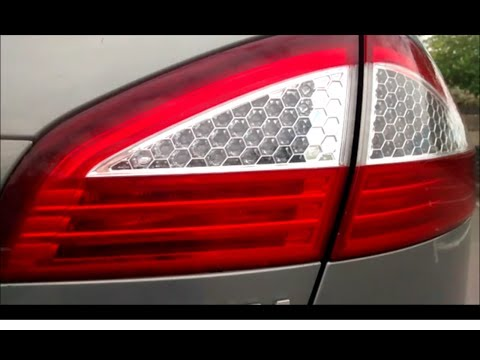 EASY Walkthrough Guide to replace Ford Mondeo rear brake light or reverse tail light bulb