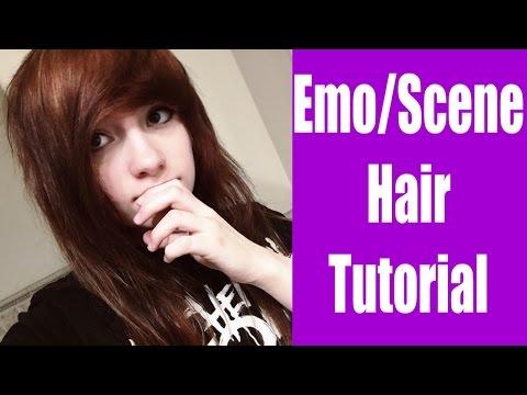 How I Cut My EMO/SCENE Hair!