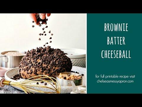 Brownie Batter Cheeseball