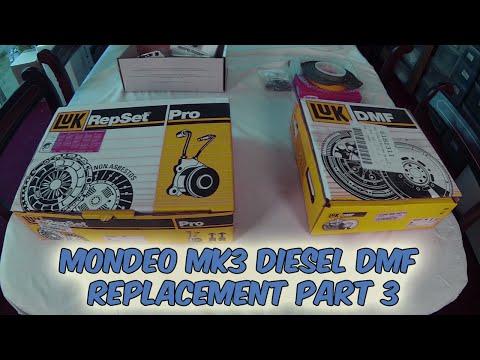 Part 3 Ford Mondeo Mk 3 Dual Mass Flywheel Failure Diesel LUK Replacement