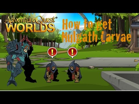 AQW How to get Nulgath Larvae | Epic must have pet | Includes 2 Quests! | Usable for Non-Members