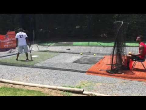 Iman Muhammad keeping softball simple