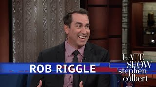 Rob Riggle Plays His Old Military Boss In A New Movie