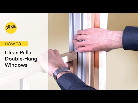 How to Clean Your Double-Hung WIndow