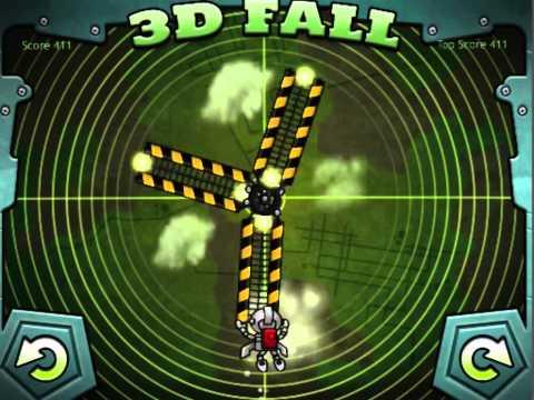 GameSalad_3DFall