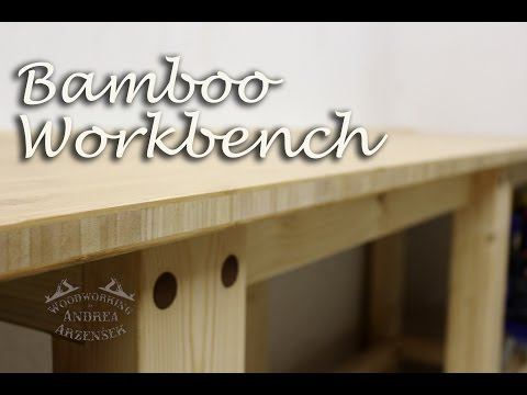 Building a Solid Workbench with Bamboo Top - Ep 045
