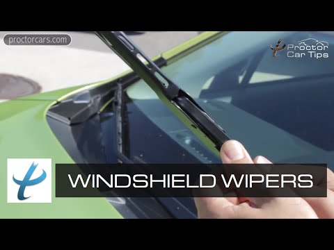 When Should I Replace My Windshield Wipers? — Sizes, Fluids, and Wiper Motor
