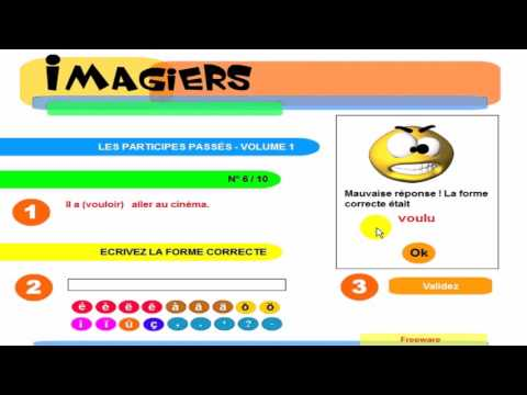 Learn French Today #Quiz #The past participles #1