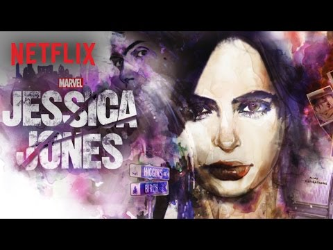 Marvel - Jessica Jones - Pôster - Netflix [HD]