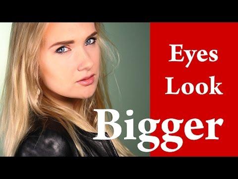How to make EYES LOOK BIGGER with Kajal and Eyeliner – Cara Delevingne  TopShop Smokey Eye Makeup