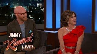 Jimmy Kimmel Interviews Rose Parade Hosts Cord & Tish