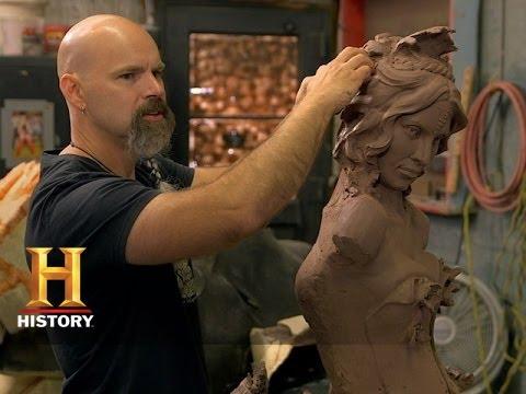 Monument Guys: Modeling Medusa's Snakes (S1, E5) | History
