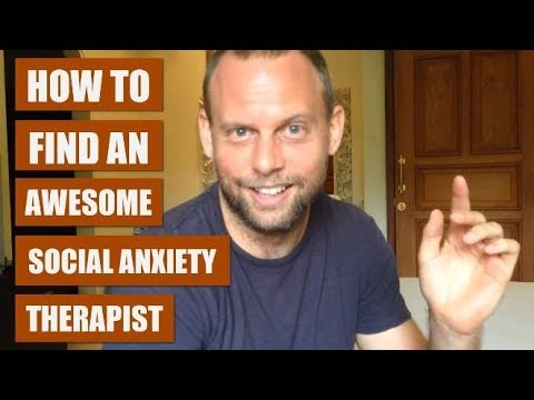 How to Find the Best Social Anxiety Therapist