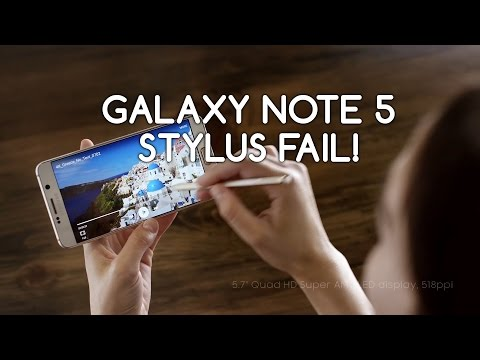 Galaxy Note 5 Problems Stylus Ejector Flaw