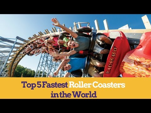 Fastest Roller Coasters in the World Rankings