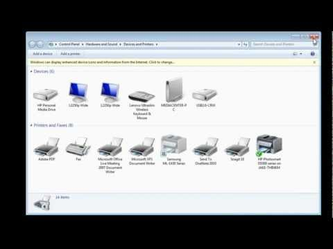 Configure Network Printing Remotely