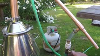 Olympic Distillers 2 Inch Pot Still Spirit Run Fits Beer Keg