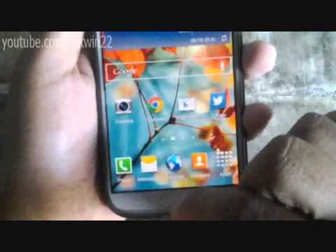 Samsung Galaxy S4: How to edit home screen (Android kitkat)