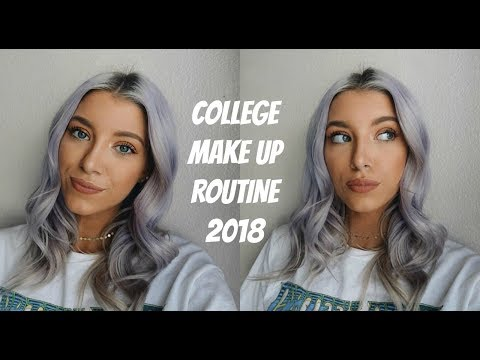 COLLEGE EVERYDAY MAKE UP ROUTINE | 2018