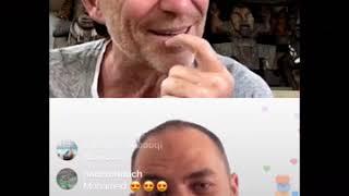 Denis Brogniart interview Mohamed de Koh-Lanta - Live Instagram