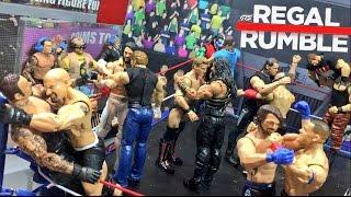WWE ROYAL RUMBLE FIGURE PARODY! GTS WRESTLING REGAL RUMBLE ELITE PPV EVENT!