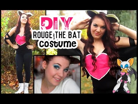 DIY Rouge the Bat Costume | STYLOWEEN