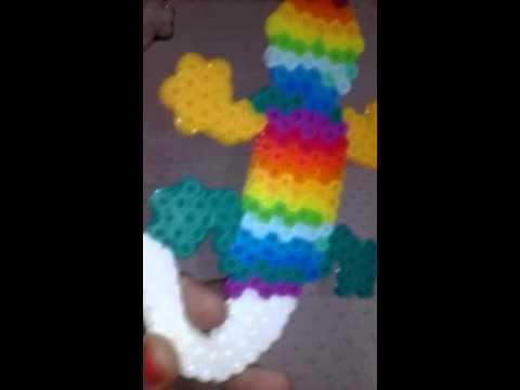 Rainbow bead lizard